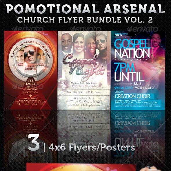 Promotional Arsenal – Church Flyer Bundle 2
