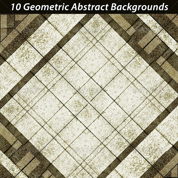 10 Geometric Abstract Backgrounds