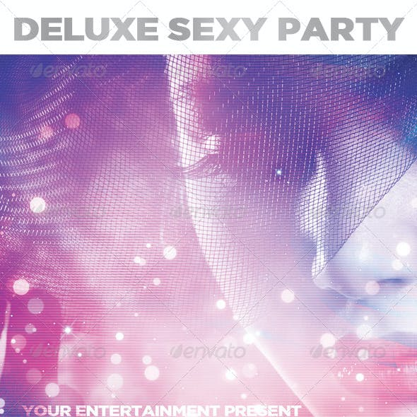 Deluxe Sexy Party | Flyer Template