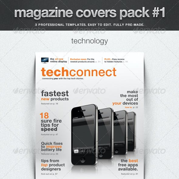 Magazine Covers Pack #1