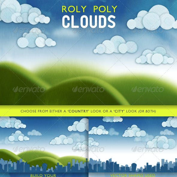 Roly Poly Clouds