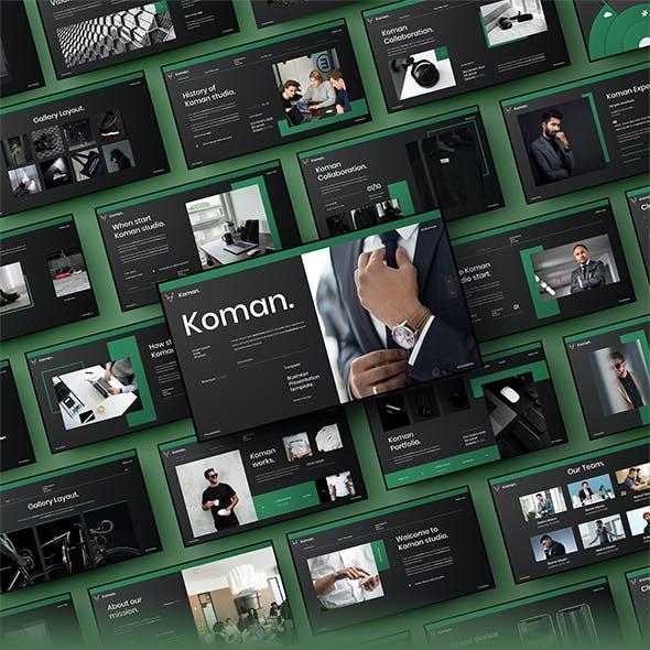 Koman – Business PowerPoint Template