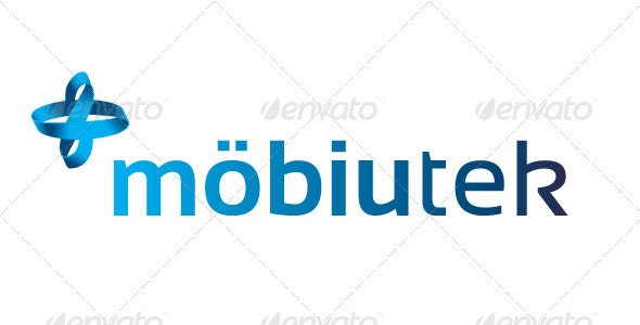 Technology Mobius Logo Mobiutek - Symbols Logo Templates