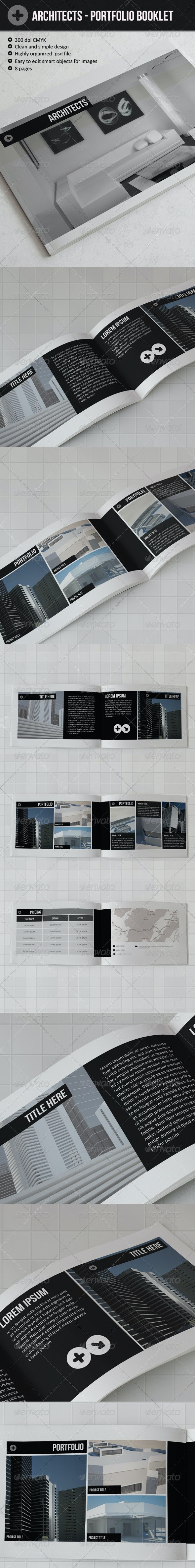 Architects - Portfolio booklet - Portfolio Brochures