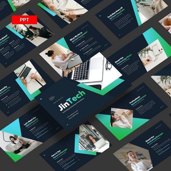 JinTech Corporate Technology - PowerPoint UP