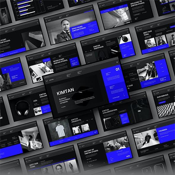 Kimtan – Business PowerPoint Template