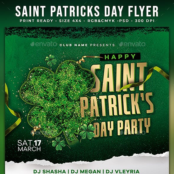 Saint Patricks Day Flyer