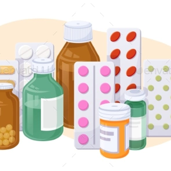 Tablets Capsules Blisters Glass Vials