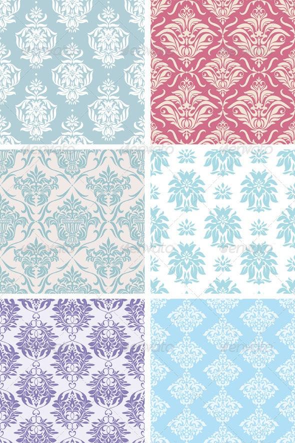 Seamless Floral Patterns - Patterns Decorative