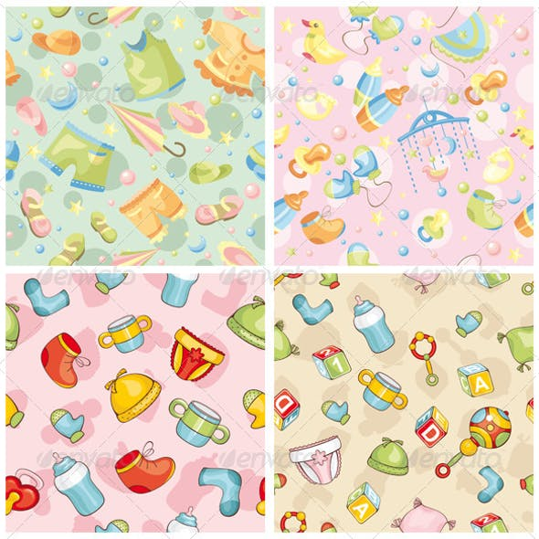 Seamless Baby Patterns
