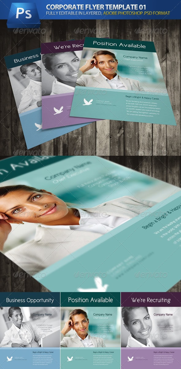 Corporate Business Flyer 01 - Corporate Flyers