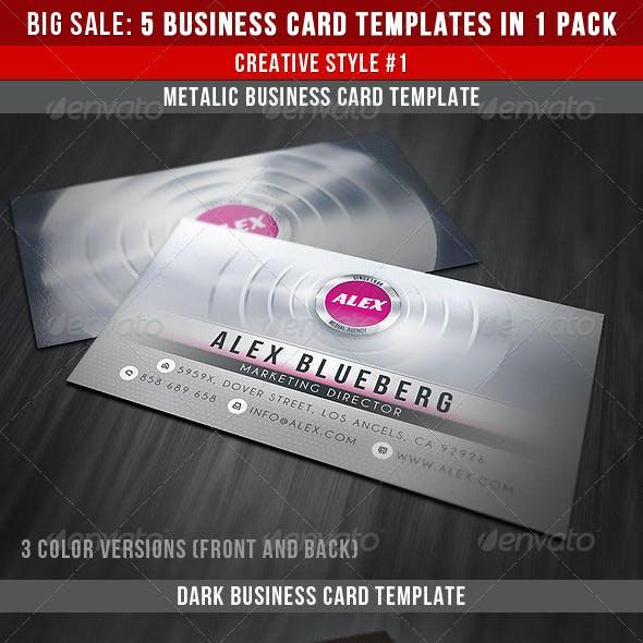 Creative Business Cards Bundle