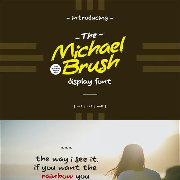 Michael Brush Font