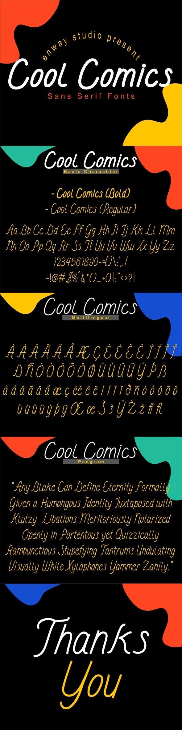 Cool Comics - Comic Decorative