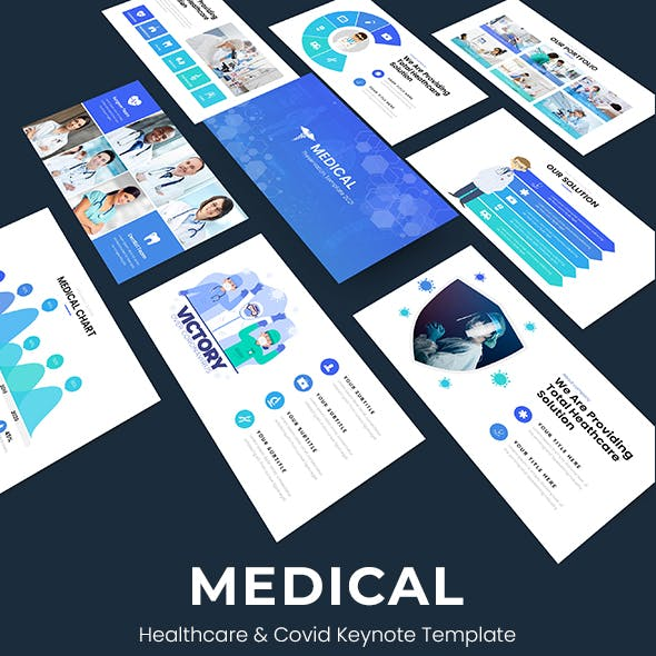 Medical - Healthcare & Covid-19 Powerpoint Template