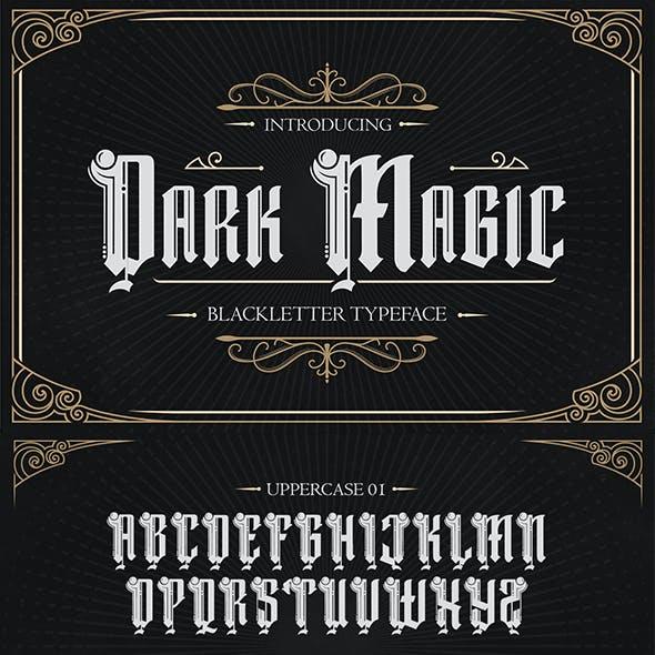 Dark Magic – Blackletter Typeface