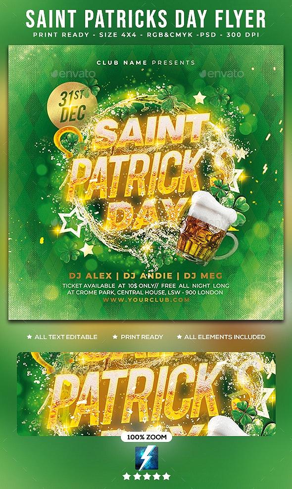 Saint Patricks Day Flyer - Events Flyers