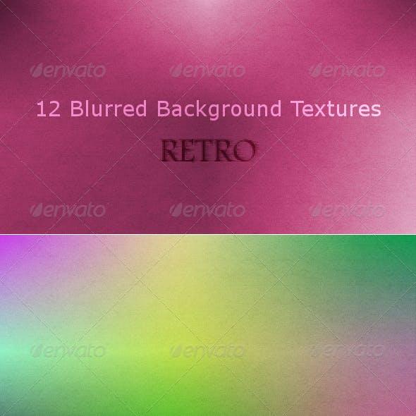 12 Retro Blurred Background Textures