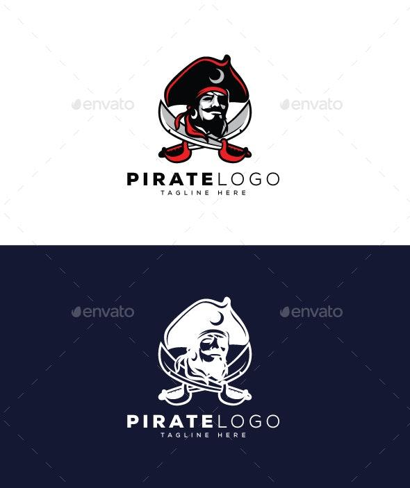 Pirate Logo - Humans Logo Templates