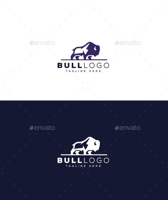 Bull Logo - Animals Logo Templates