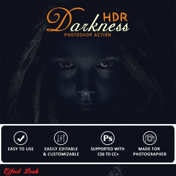 Darkness Hdr Photoshop Action