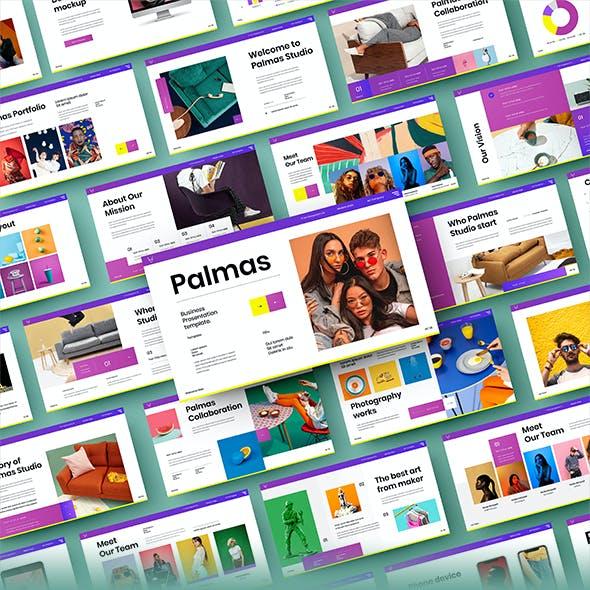 Palmas – Business PowerPoint Template