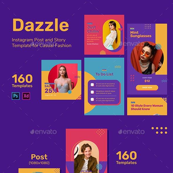 Dazzle - Fashion Instagram Template