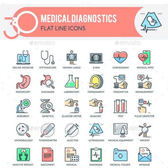 Medical Diagnostics Icons