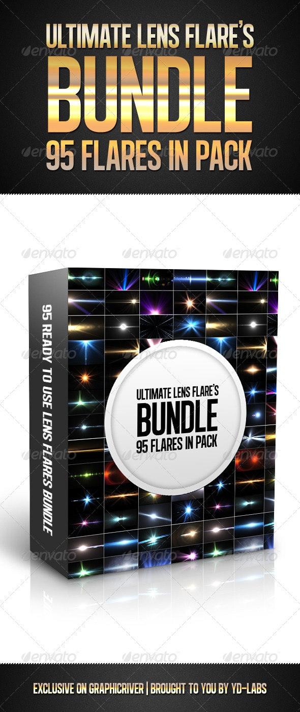 Ultimate Lens Flares Bundle - Decorative Graphics
