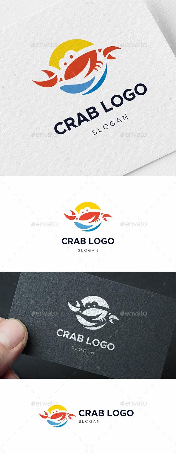 Crab Logo - Animals Logo Templates