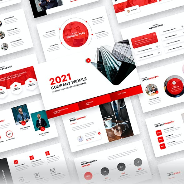 Company Profile 2021 – Business Corporate PowerPoint Template