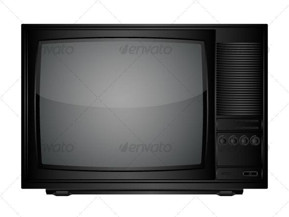 TV set - Retro Technology