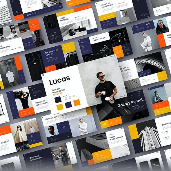 Lucas – Business PowerPoint Template