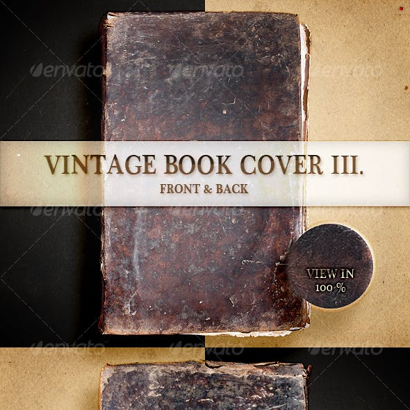 Vintage Book Cover III
