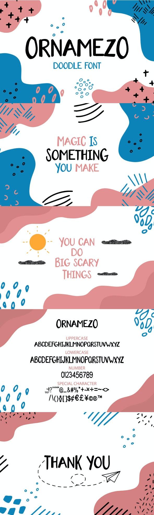 Ornamezo - Sans-Serif Fonts