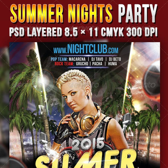 Summer Nights Party