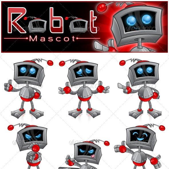Robot Mascot Series 1