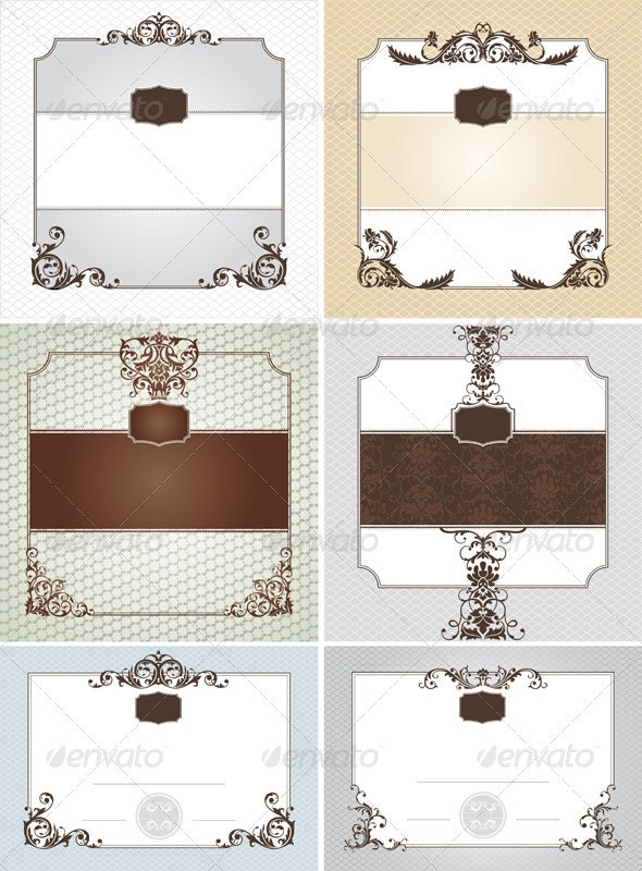 Abstract Frames - Borders Decorative