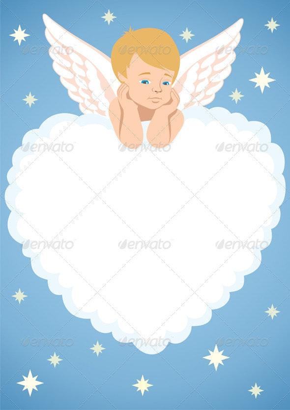 Cupid Frame - Valentines Seasons/Holidays