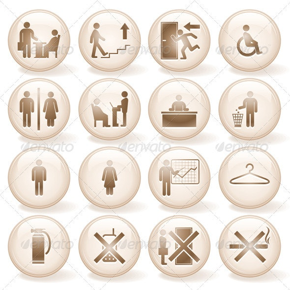 Office Icons - People Characters