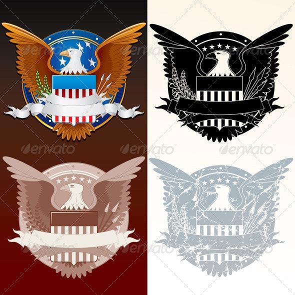 Seal of the President - Decorative Symbols Decorative