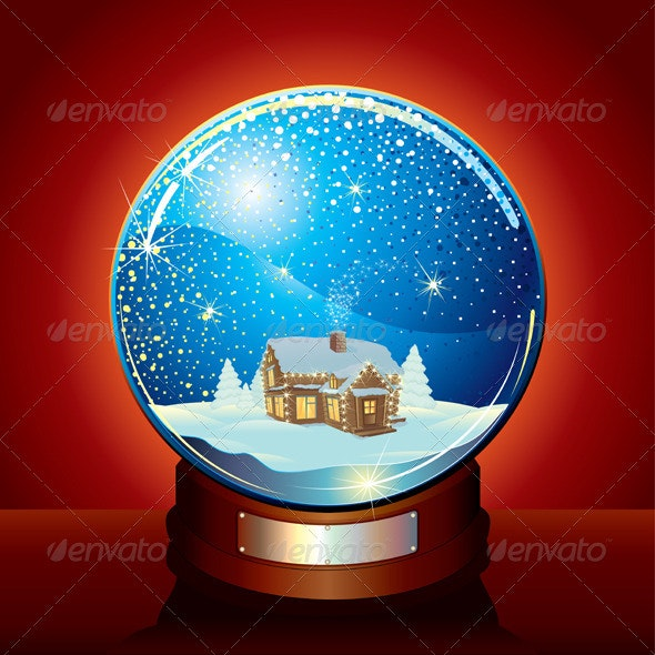 Classic Snow Globe - Christmas Seasons/Holidays