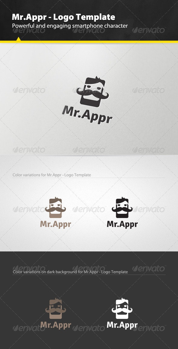Mr.Appr - Logo Template - Humans Logo Templates