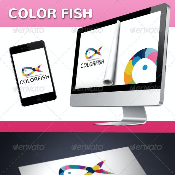 Fish Color Logo