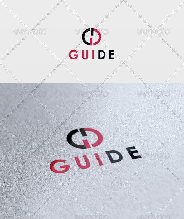 Guide Logo - Letters Logo Templates
