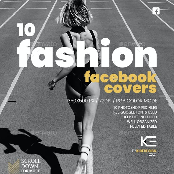 10 Fashion Facebook Cover