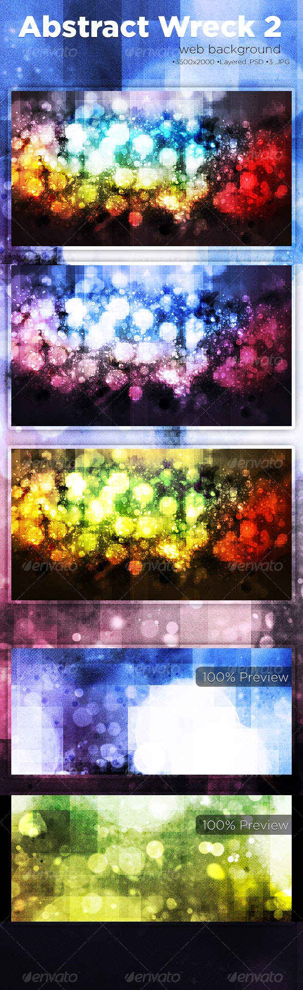Abstract Wreck 2 Backgrounds - Backgrounds Graphics