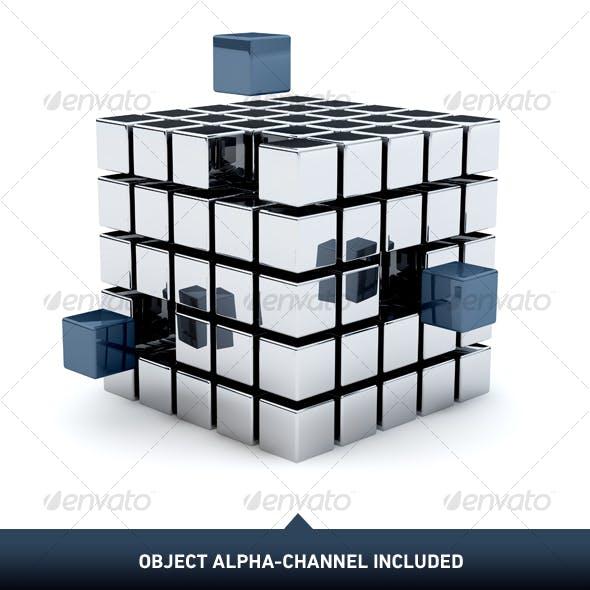 Metal Cubes 01
