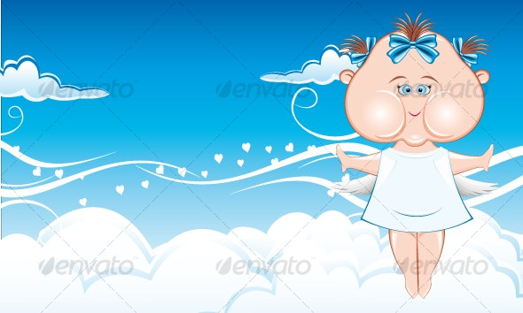 Angel love - Characters Vectors