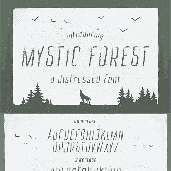 Mystic Forest - Distressed